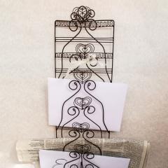 Briefhalter aus Draht
