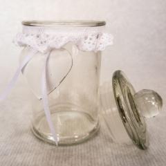 Vorratsglas mit Deckel klein