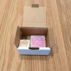 Stempel cupcake pink