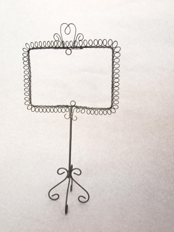 Kartenhalter aus Draht   c-art-olino   ebnat-kappel