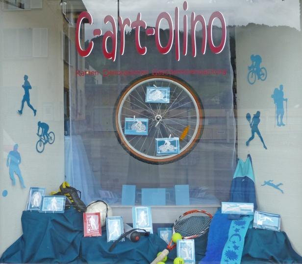 c-art-olino Schaufenster